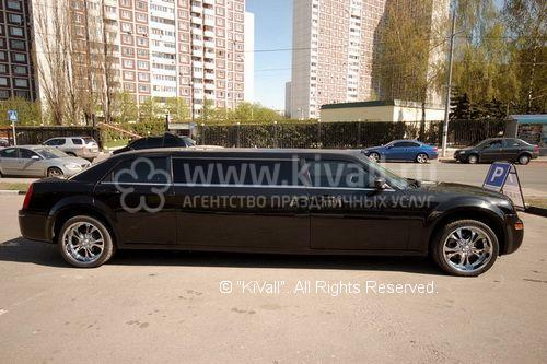 Аренда лимузина Chrysler 300C / Крайслер 300С Москва
